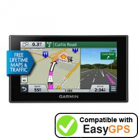 Download your Garmin RV 660LMT waypoints and tracklogs for free with EasyGPS