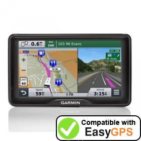 Download your Garmin RV 760LMT waypoints and tracklogs for free with EasyGPS