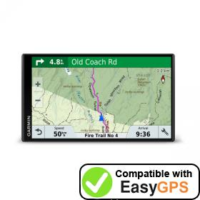 Download your Garmin RV 775 MT-S waypoints and tracklogs for free with EasyGPS