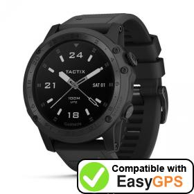 Download your Garmin tactix Charlie waypoints and tracklogs for free with EasyGPS