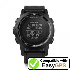 Download your Garmin tactix waypoints and tracklogs for free with EasyGPS