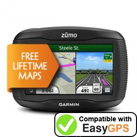Download your Garmin zūmo 340LM waypoints and tracklogs for free with EasyGPS