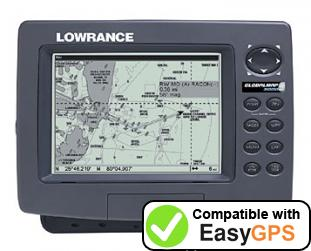 Download your Lowrance GlobalMap 3000MT waypoints and tracklogs for free with EasyGPS