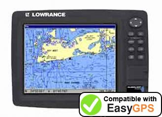 Download your Lowrance GlobalMap 7000C waypoints and tracklogs for free with EasyGPS