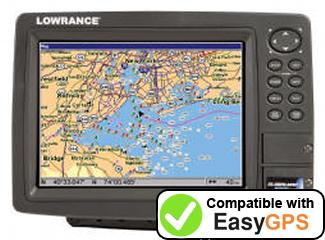 Download your Lowrance GlobalMap 8300C HD waypoints and tracklogs for free with EasyGPS