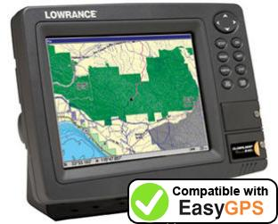 Download your Lowrance GlobalMap Baja 840C waypoints and tracklogs for free with EasyGPS