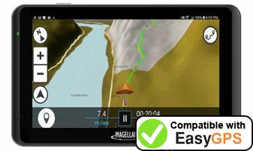 Download your Magellan TR5 waypoints and tracklogs for free with EasyGPS