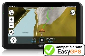 Download your Magellan TR7 waypoints and tracklogs for free with EasyGPS
