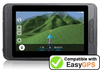Download your Magellan TRX7 waypoints and tracklogs for free with EasyGPS