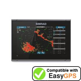 Download your Simrad GO9 XSE waypoints and tracklogs for free with EasyGPS