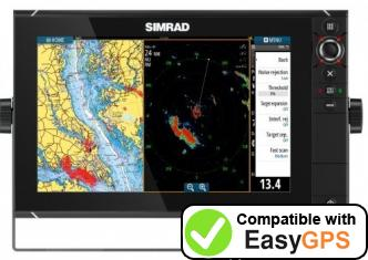 Download your Simrad NSS12 evo2 waypoints and tracklogs for free with EasyGPS