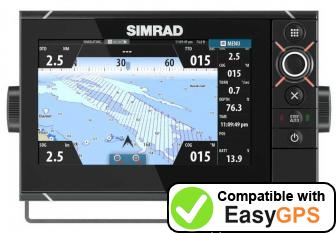Download your Simrad NSS7 evo2 waypoints and tracklogs for free with EasyGPS