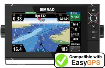 Download your Simrad NSS9 evo2 waypoints and tracklogs for free with EasyGPS